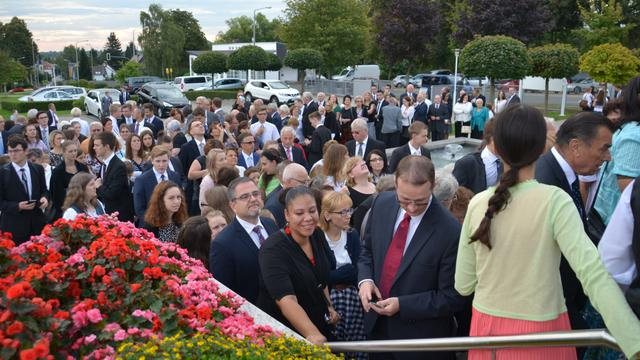 Freiberg Germany temple rededication